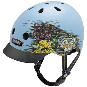 Nutcase Street casco per bici blu/colorato